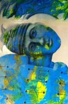 """Mysteriöse """"Fundorte"""": Gemälde von Georg Fenkl (Foto: Arnold)"""