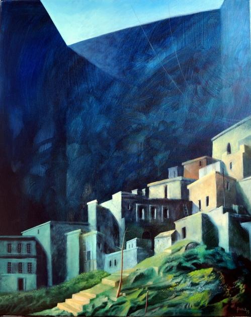 Einblick: Gemälde von Georg Fenkl.