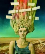 Kopfputz 2: Gemälde von Georg Fenkl.
