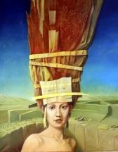 Kopfputz V: Ölbild von Georg Fenkl (Foto: Arnold)
