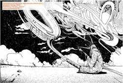 Sounds from Space: Glaszeichnung von Florian L. Arnold.
